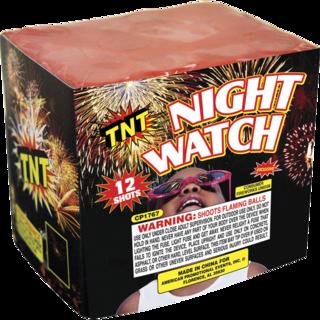 Firework Aerial Finale Night Watch