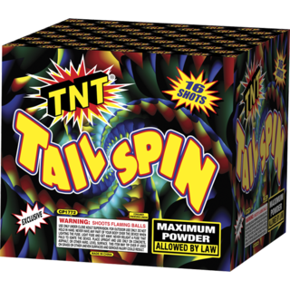 500 Gram Firework Aerial Finale Tail Spin