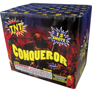 500 Gram Firework Aerial Finale Conqueror
