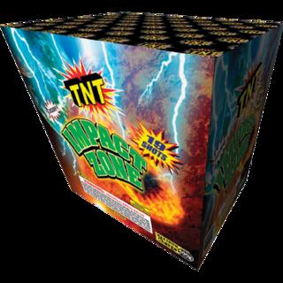 500 Gram Firework Aerial Finale Impact Zone