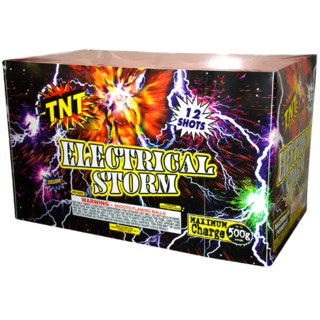 500 Gram Firework Aerial Finale Electrical Storm