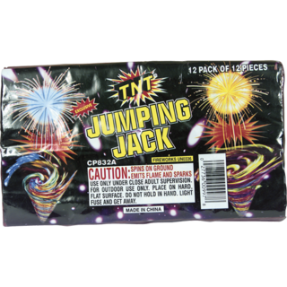 Firework Novelty Sparkler Jumping Jacks