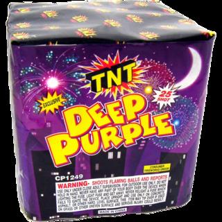 Firework Aerial Finale Deep Purple