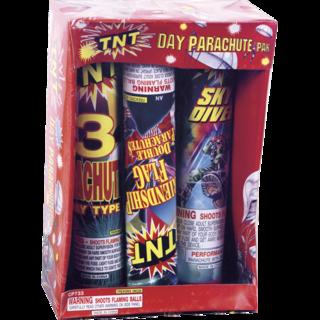Firework Novelty Sparkler Parachute Pak