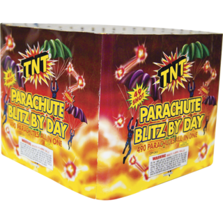 Firework Novelty Sparkler Parachute Blitz By Day