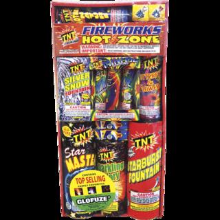 Firework Assortment Hot Zone