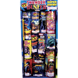 Firework Assortment Thunder Buster Tray