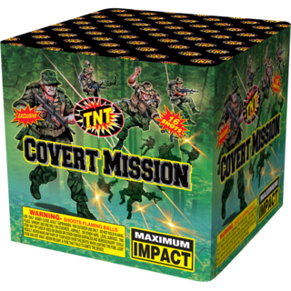 500 Gram Firework Aerial Finale Covert Mission