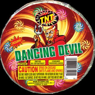 Firework Novelty Sparkler Dancing Devil