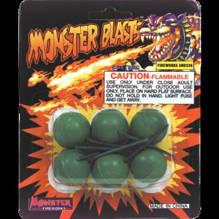 Firework Novelty Sparkler Monster Blasts