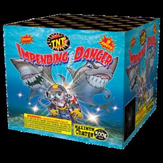 500 Gram Firework Aerial Finale Impending Danger