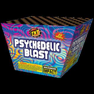 500 Gram Firework Aerial Finale Psychedelic Blast